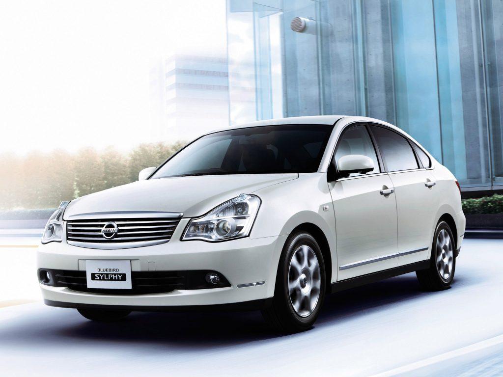 Японский Nissan Bluebird Sylphy 2006 - основа для российского Nissan Almera 2012