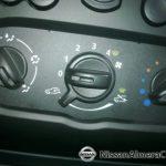 Nissan Almera АвтоВАЗ 2012: управление печкой и вентилятором. В этой версии кондиционера нет.