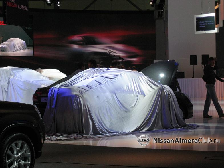 Фотографии с премьерной площадки Nissan