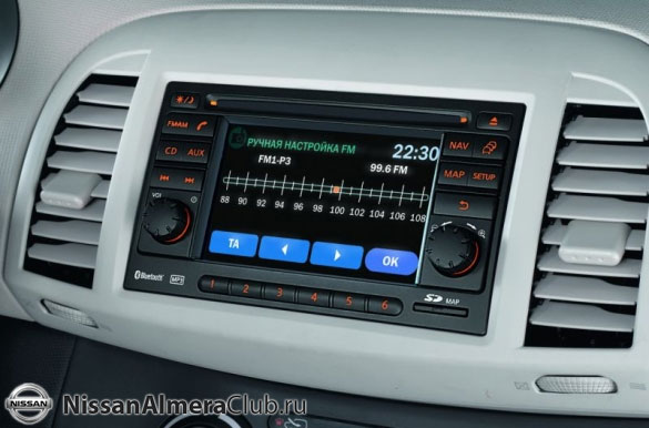 Это и есть панель приборов новой Nissan Almera?