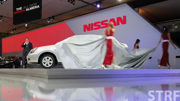 Nissan Almera появляется...
