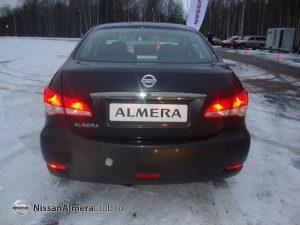 Новости с тест-драйва Nissan Almera