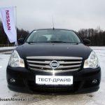 Фото с тест-драйва новой Nissan Almera 2013
