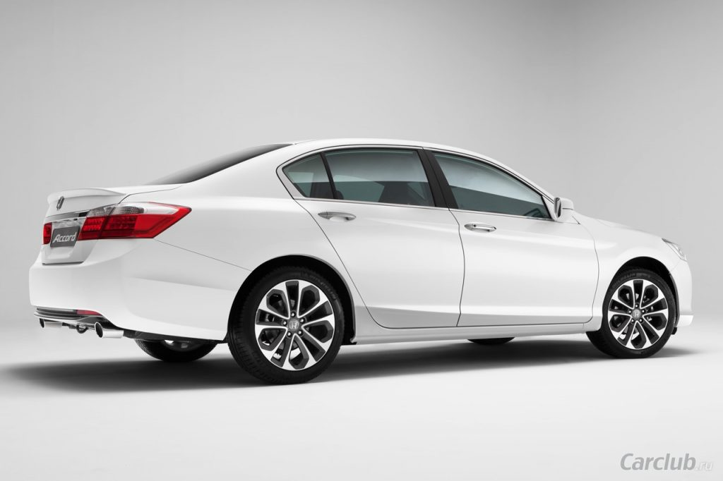Новый Honda Accord: в России с марта 2013