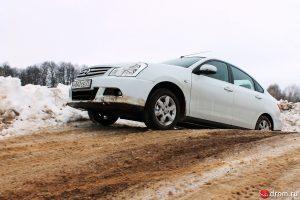 Almera на бездорожье (фото от drom.ru)