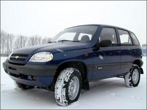 Niva Chevrolet 2 поколения